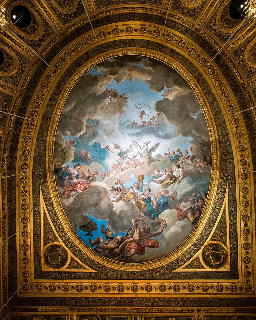 Ciel de l'Opéra royal de Versailles